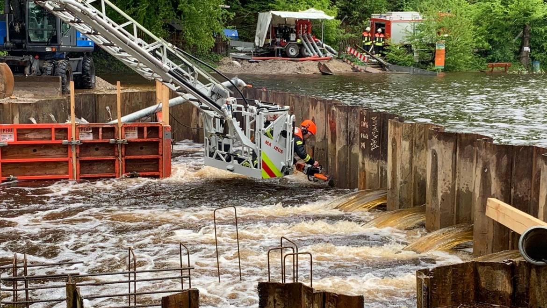21.05.2019 – Hochwasser Deininger Weiher